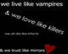 Vampire Sticker