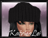 KL* Black knitted Hat