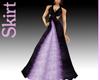 Purple Halter Gown