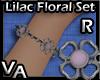VA Lilac Floral Set B-R