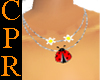 [CPR] Ladybug necklaces