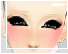 B` Kawaii Blond Eyebrows
