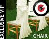 A wedding chair