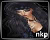 NKP-blue/blk head scarf