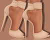 ~A: Nude Croco Heels