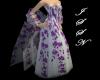 Violet Primrose Shawl