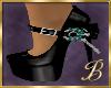 Jade & Black Shoes