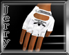 Adidas White Gloves