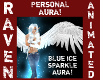 BLUE ICE SPARKLE AURA!