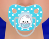 [E] Kawaii Blue Pacifier