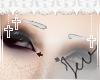 JEV: Short WhiteEyebrows