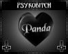 PB Spin Heart panda