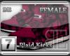 [BE] Pink Plaid|Kicks F