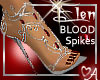 Blood spikes