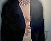 J' Black Fur Coat Lyrble