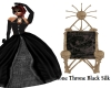Bone Throne Black Silk