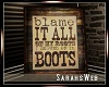 Country Roots Boots Art