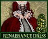 Renaissance Dress Red