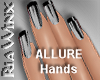 Wx:Sleek Allure Blak Tip