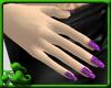 Dainty Nails - Purple Sw
