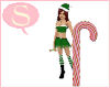 S. Giant Candy Cane c.