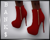 Banks Red Booties