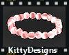 *KD CL Pink bracelet