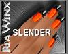Wx:Slender Orange-Black
