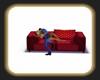 sofa flirt kiss