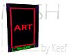 Art with Frame V, Mesh