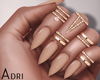 ~A: Beige Nails