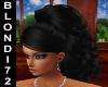 Black Louise Hair
