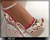 !M! Floral Sandals