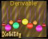 Derivable Party Balls