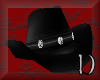 CowGirl Hat Black