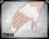 |AK| White Lace Gloves
