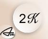 ~A: 2k Support Sticker