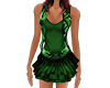 Green Caribean outfit