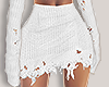 I│Knit Skirt White RL