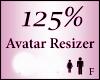 Avatar Resize Scaler 125