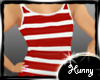 Kids Red and White Tank