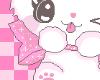 [R] Pink Kitten Sticker