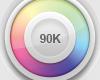 Sticker 90K