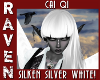 Cai SILKEN SILVER WHITE!
