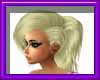 (sm)blond ponytail braid