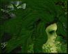 Dryad Hair ~ Green Leaf