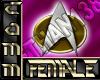 ST Badge: Comm TNG-F
