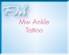 ~FM~Mw Ankle Tattoo (f)