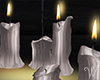 Silver Living Candles