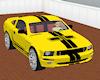 Hott Yellow Shelby GT500